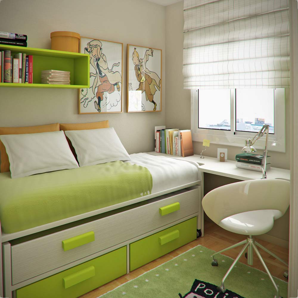 Children's-bedroom-decor-for-a-small-space