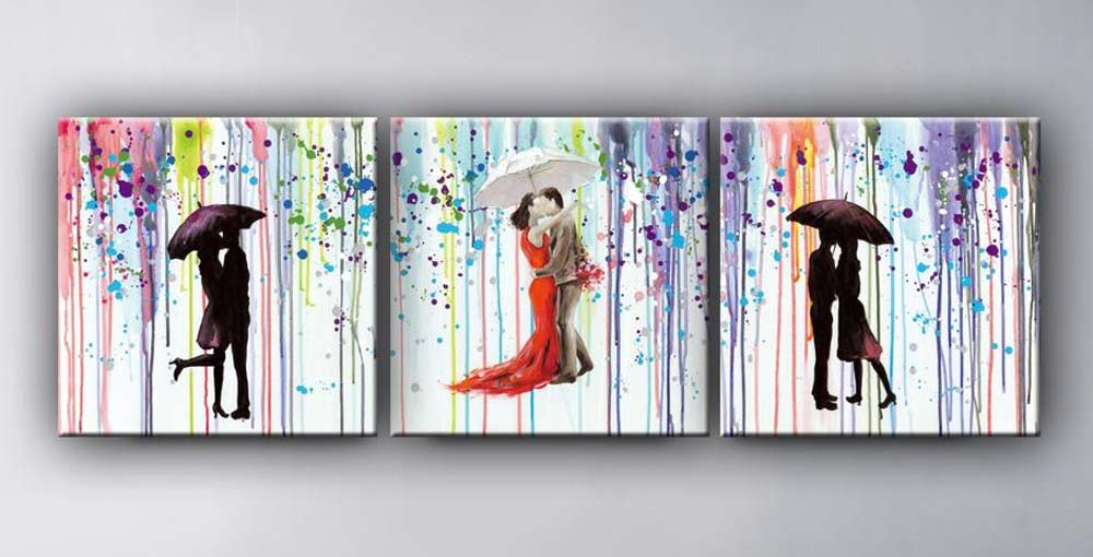colourful-canvases-on-wall