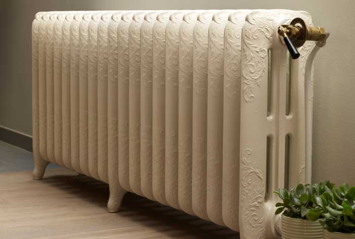 cream-old-style-radiator