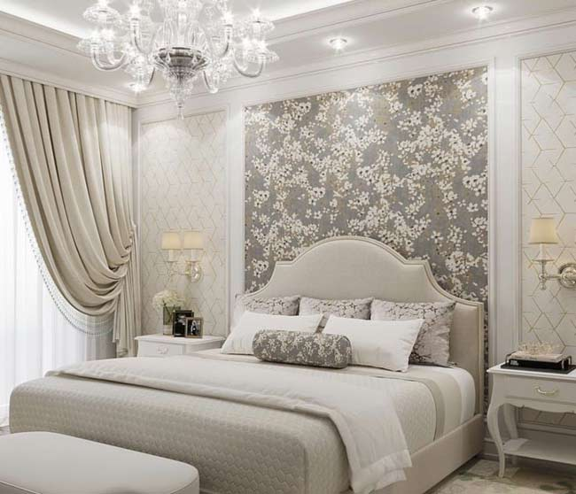25 Stunning Grey And Silver Bedroom Ideas For Your Home Aspect Wall Art Stickers