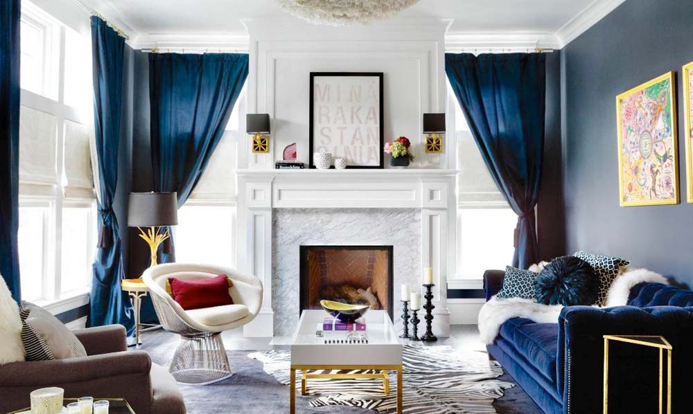 navy-gold-white-living-room