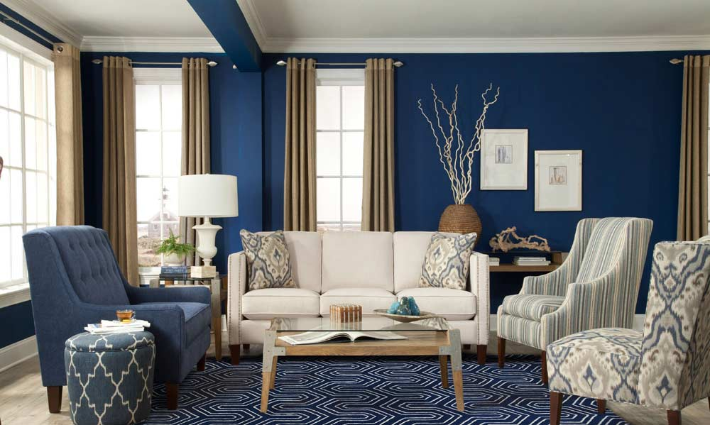 navy-living-room-patterned-furniture