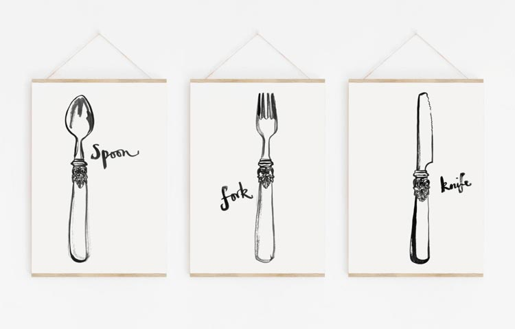 Spoon And Fork Wall Decor Meaning from www.aspectwallart.com